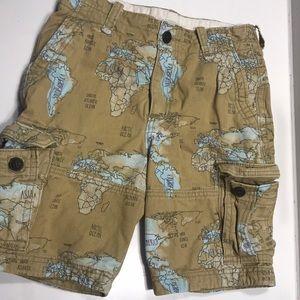 Boys cargo shorts by Abercrombie Kids size 12